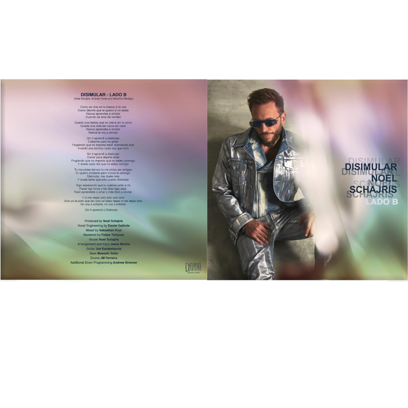 """Disimular 7"""" Flexi vinyl (Slide B)"""
