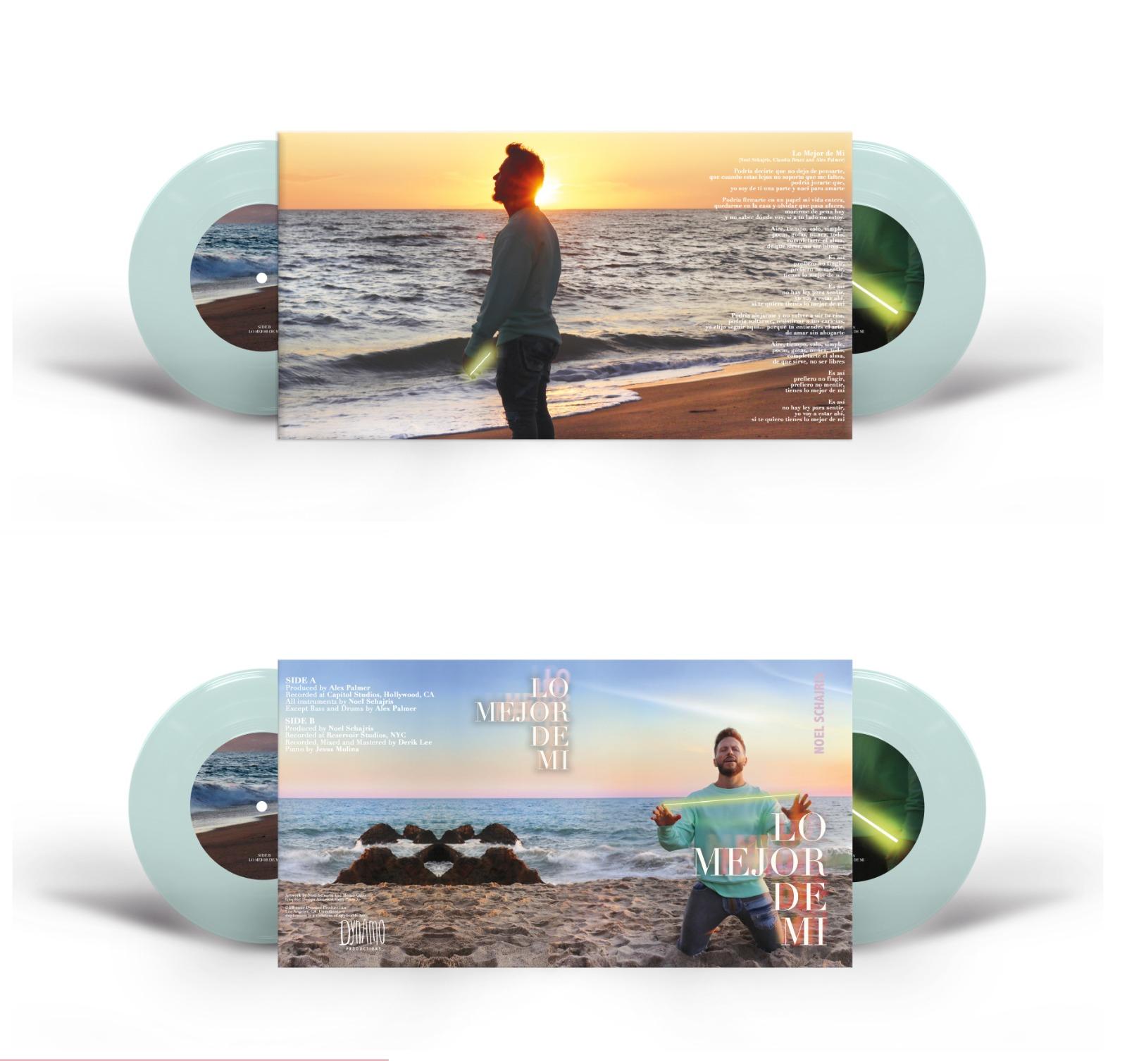 "Lo Mejor De Mi Vinyl 7"" (Slide A, Slide B (Acustic Version)"