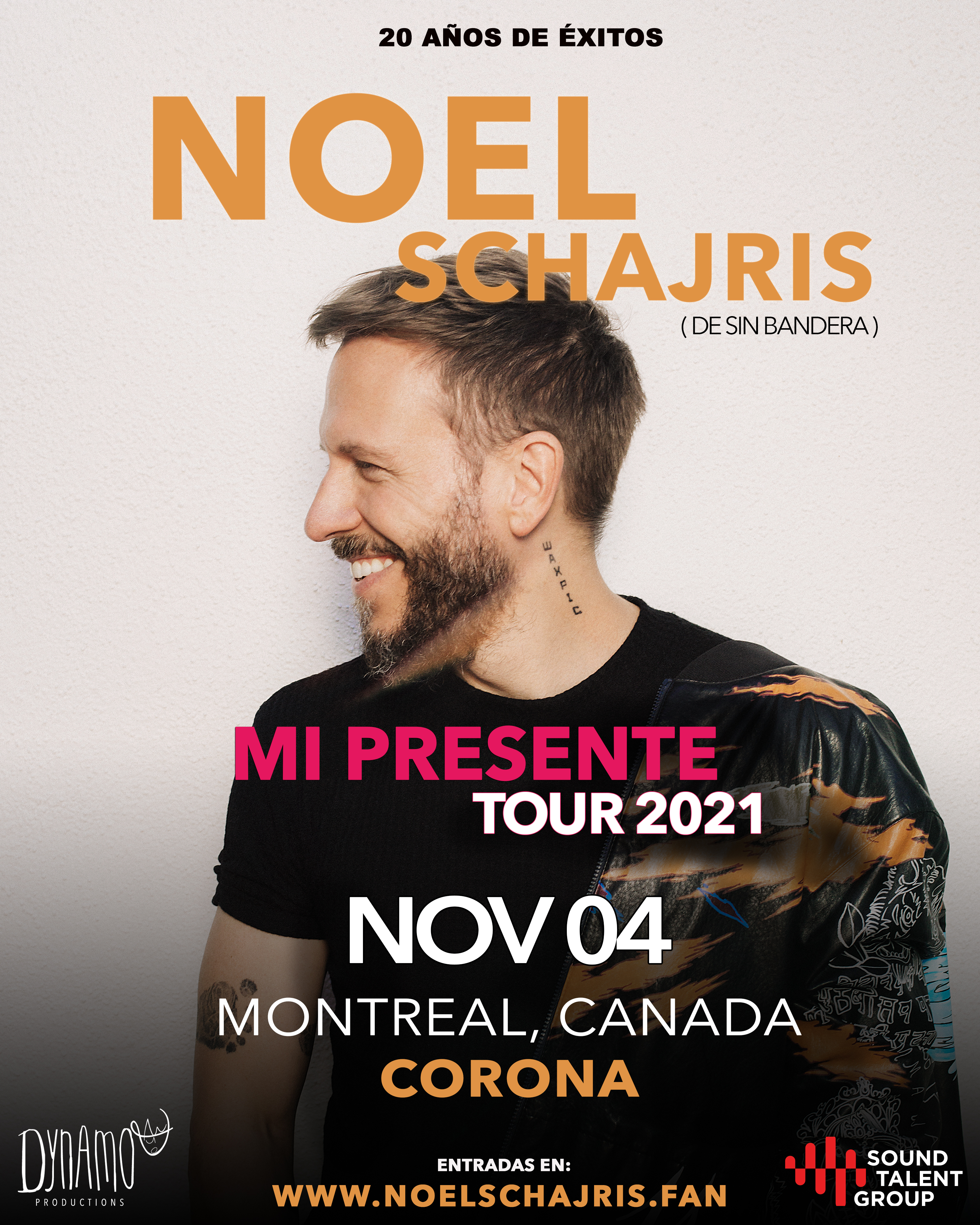 CONVIVENCIA VIP GIRA MUNDIAL MI PRESENTE 2021 (MONTREAL, CANADA)